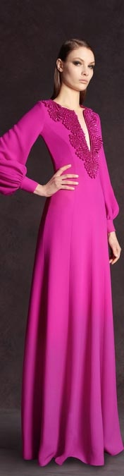Pre-Fall 2013 Andrew Gn #dress #couture