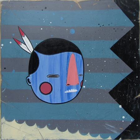 Dan Withey    Blue Face Indian - 2010/2011