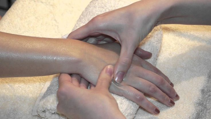 How To Give a Basic Hand and Arm Massage - Demonstration Massage Tutorial