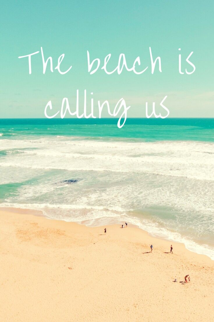 The Beach Is Calling Us Travel Journal Ideastravel