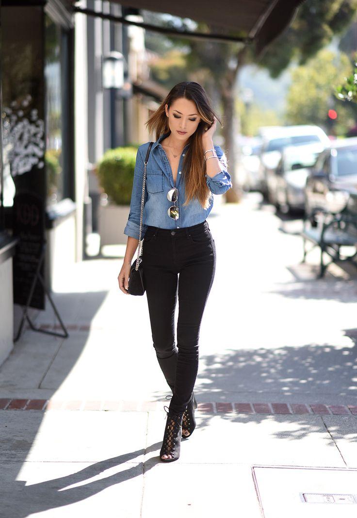 Outfit Black Top Frankmba Com