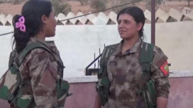 #Media #Oligarchs #MegaBanks vs #Union #Occupy #BLM #Rojava  [VIDEO] Syrian women saved from Isis by female Kurdish fighters set up their own women-only battalion  http://www.independent.co.uk/news/world/middle-east/syria-isis-battle-latest-all-women-battalion-al-bab-manbij-a7391671.html  The Kurdish-led al-Bab Military Council in northern Syria is welcoming new female recruits who want to help free their hometown from the Islamist militants   Syrian women freed from Isis, following the…