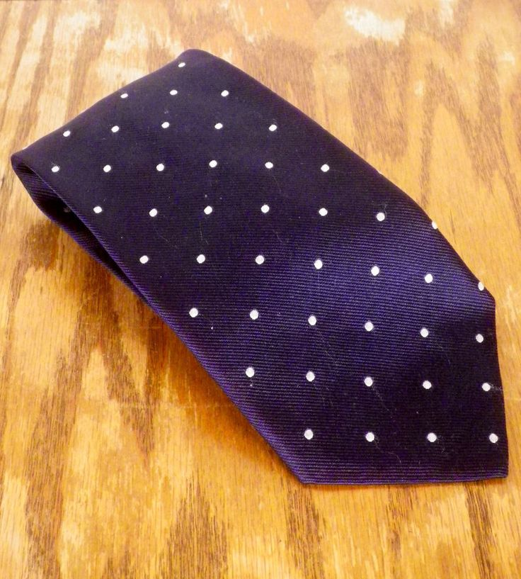 "NWOT Brooks Brothers Navy Blue / Gray Geometric Men's Silk Tie UK made 60"" 3.75"" #BrooksBrothers #Tie"