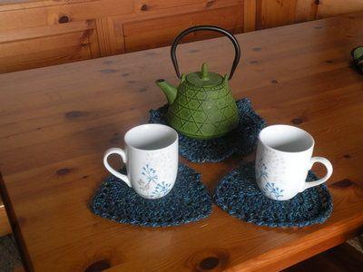 Varie - pausa the sotto tazza teiera - un prodotto unico di bandullera su DaWanda