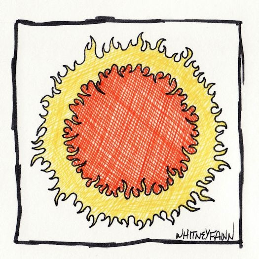 @whitneyfawn    #30DoC Day 2 - Ring of Fire - @createstuff