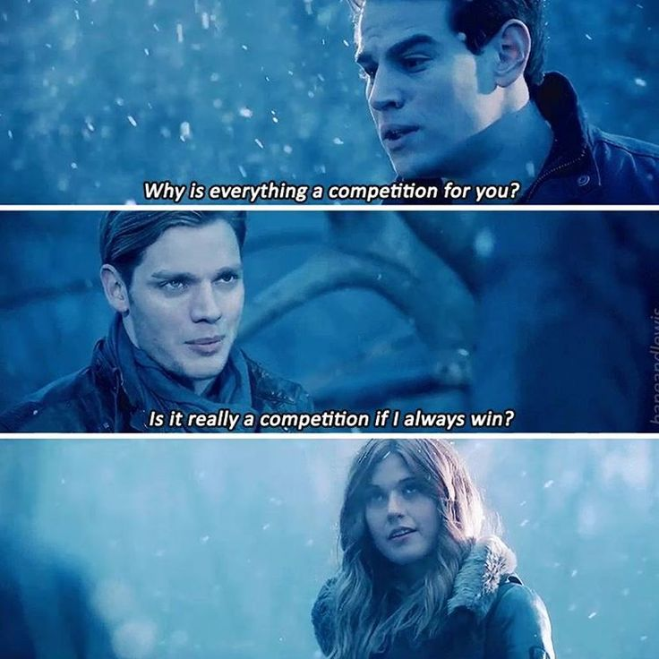 Risultati immagini per it's actually a competition if i always win  shadowhunters