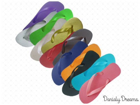 Perfect Flip Flop To Be Embellished Customized Or Just Plain Solid Color Flops Match Your Party Theme Wedding Reception School Colors