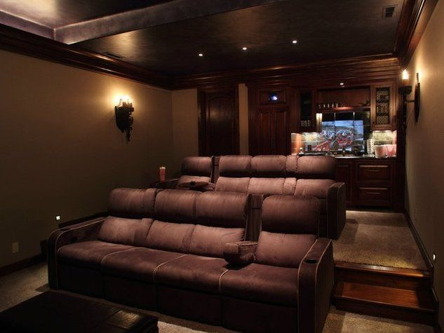 Media Room Design Ideas  Geeky Fun Outer Space And Scifi Home   gallery of bccbbffde home cinema room ideas lower storey cinema room  hometheater on home media room design with media room design ideas . Home Media Room Design. Home Design Ideas