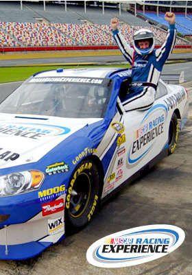 NASCAR Racing Experience      Three-Hour NASCAR Drive Experience ($199) or Ride-Along Experience ($64)