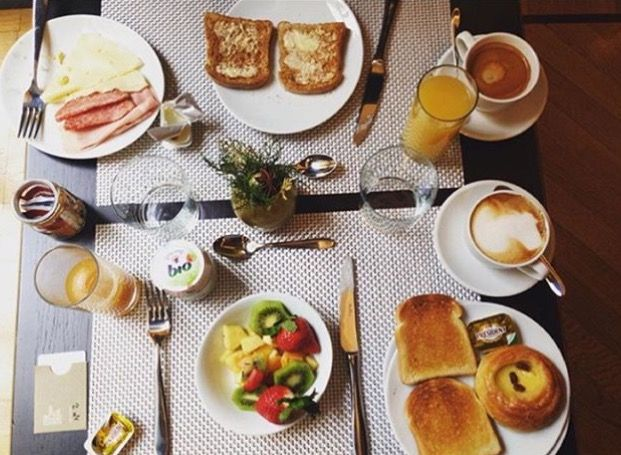 #RG @s11ona Why can't breakfast be like this everyday?  Dear @s11ona you are so right! ☕ morning starts definitely better, doesn't it?  good morning!  #breakfast #buffetbreakfast #thefifteenkeyshotel #fifteenkeys #feelshomey #tbt #colazione #rionemonti #rome #roma #italy