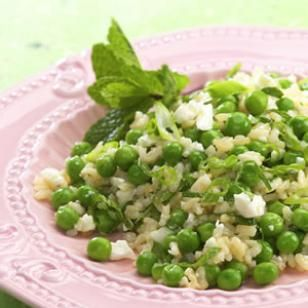 Minted Peas & Rice with Feta – Healthy Diabetic Recipes