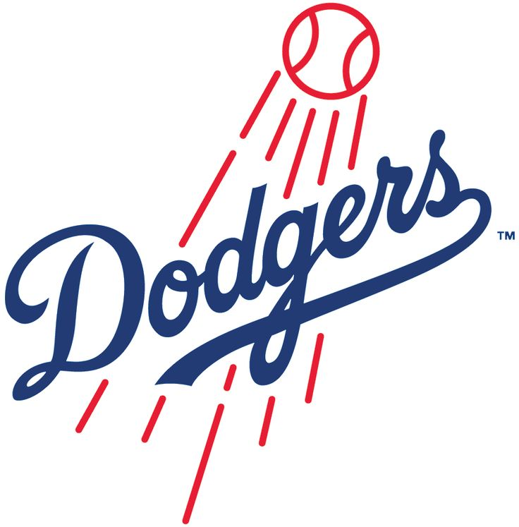 Los Angeles Dodgers Primary Logo - National League (NL) - Chris Creamer's Sports Logos Page - SportsLogos.Net