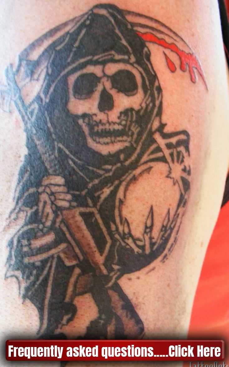 Sons Of Anarchy Tattoo Soa Sonsofanarchy Tattoo Sons Of Anarchy Tattoos Tattoos For Kids Tattoos