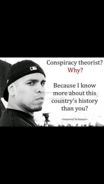 I stay away from the Theories and stick with the Conspiracy Facts.  I just follow the better trails, but it's so easy to connect the dots of facts.