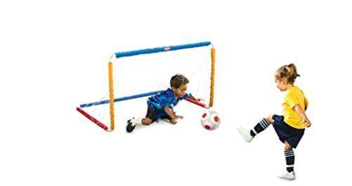 Little Tikes Soccer Set Kids Soccer Net EasyScore Toddler Soccer Goal Set NEW #MGA
