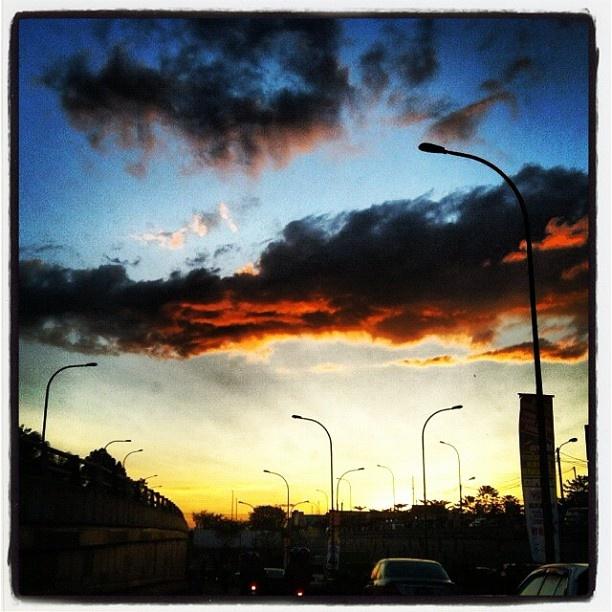 #senja #kelam #lofi #sunset - @tamtomo- #webstagram