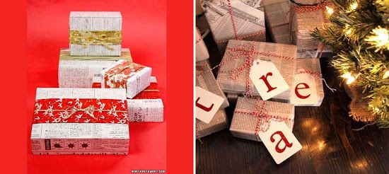 Ιδέες για περιτύλιγμα δώρων / Gift Wrapping Ideas !