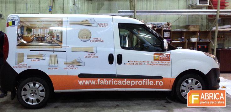 Fabrica – principalul producător de profile decorative din Romania   Am început anul 2015 cu optimizarea produsele si serviciile oferite.  Pentru partea laterala a mașini am ales sa prezentam profile pentru interior.   http://www.fabricadeprofile.ro/.