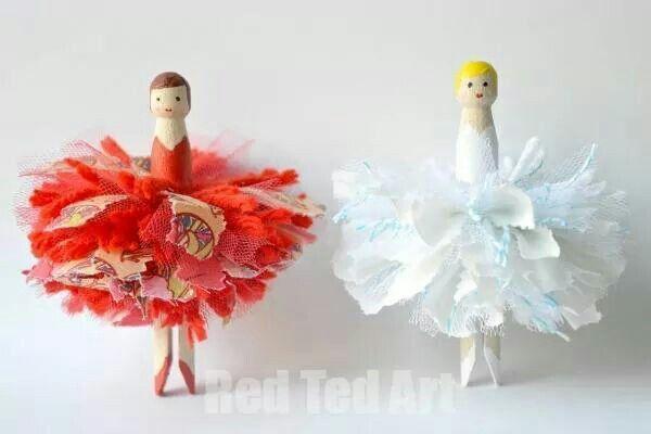 Peg ballerina