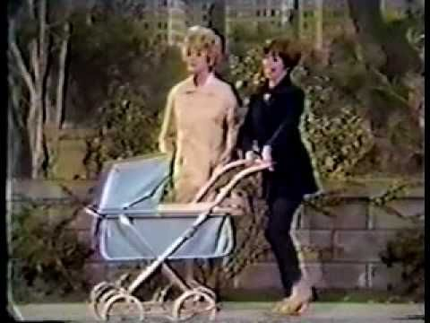 Lucille Ball and Carol Burnett - 'Goodbye Baby'