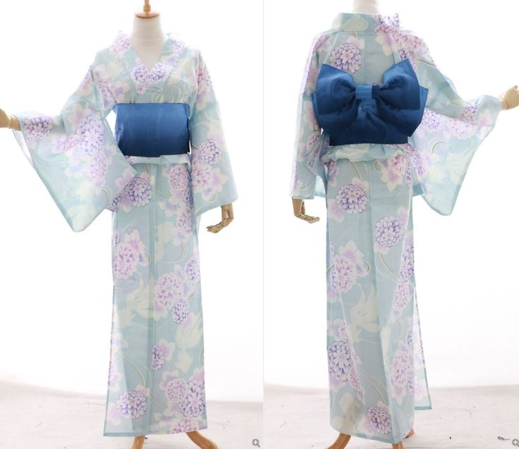 K-016 Hell-Blau blue lila Blumen Blumen ORIGINAL Japan Kimono YUKATA OBI Gürtel | Vêtements, accessoires, Déguisements, costumes, Déguisements | eBay!