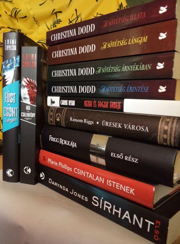 új könyvek július