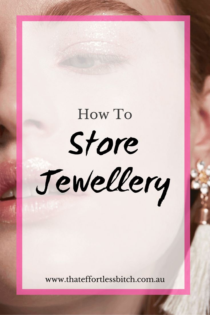 Learn some jewellery storage hacks and tips from Fashion Stylist and Wardrobe Organisation guru Alarna Hope!