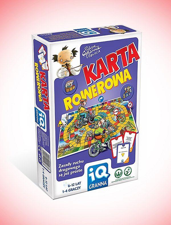 Gra edukacyjna - karta rowerowa. Zasady drogowe nigdy nie były prostsze.  #zabawki_edukacyjne #supermisiopl