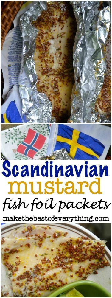 Scandinavian Fish Foil Packets