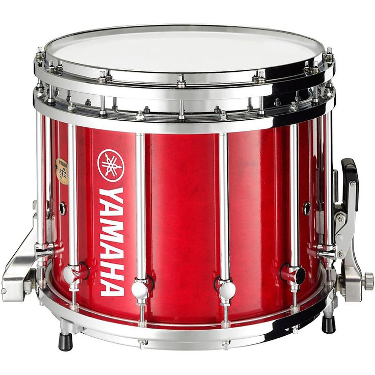 Yamaha 9300 Series SFZ Marching Snare Drum 14 x 12 in. Red Forest with Chrome Hardware