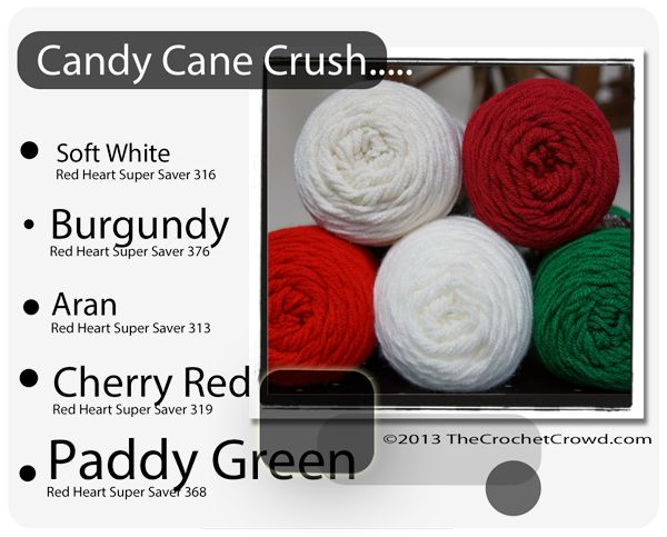 Red Heart Super Saver Color Mix: Candy Cane Crush