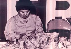 Myrna Wilson, Koasati Pinestraw Basketmaker http://louisianafolklife.nsula.edu/artist-biographies/profiles/231