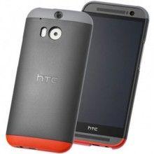Forro HTC One M8 Double Dip Original Gris Roja $ 58.100,00