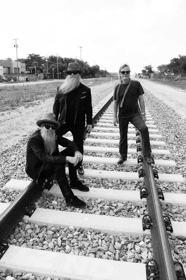 ZZ Top are totally blues. Their beards; their music; their life.