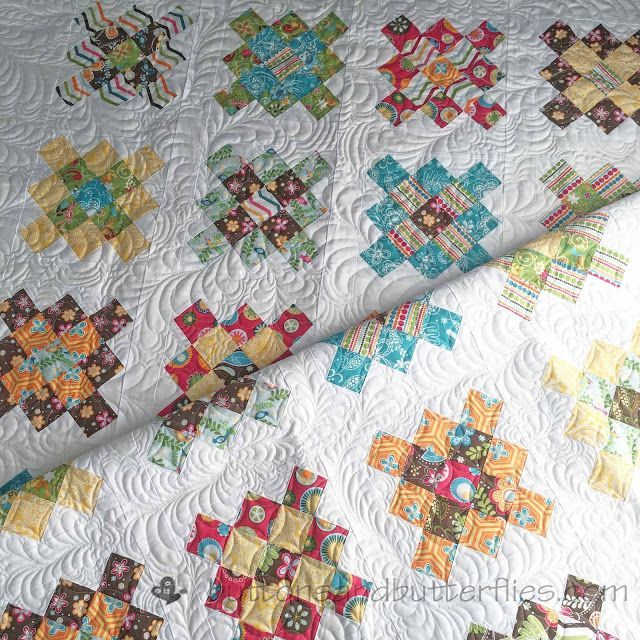 Buttons and Butterflies: Frosting {Quilt}
