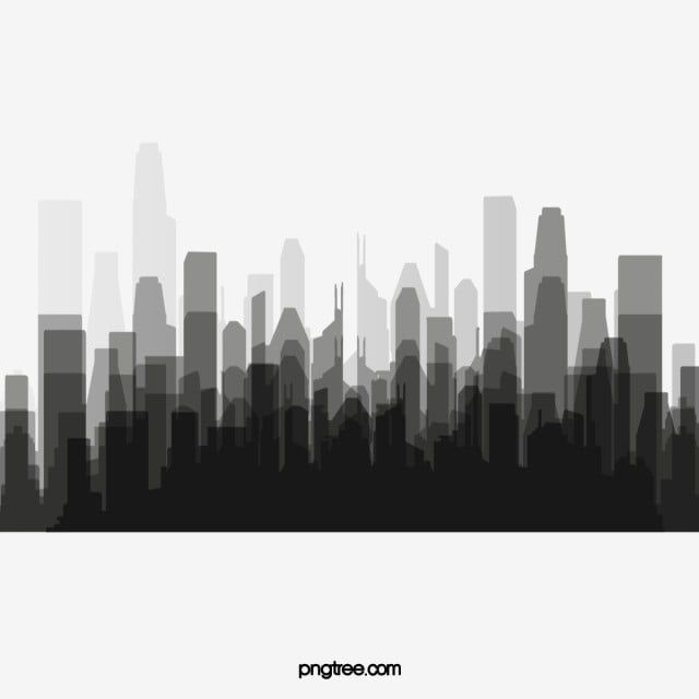 Black And White City Silhouette City Clipart Black And White City Png Transparent Clipart Image And Psd File For Free Download Black And White City City Silhouette Black And White Artwork