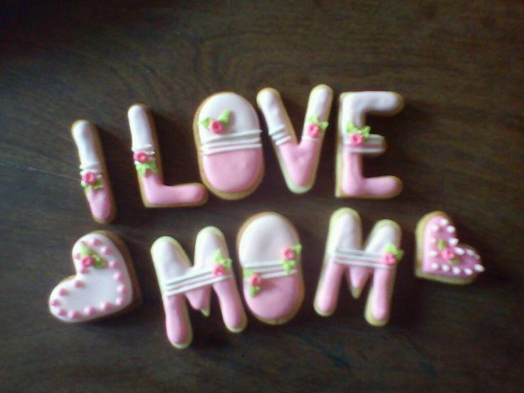 Cookies para el día de la madre!!