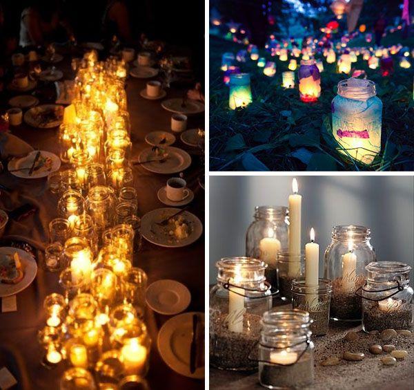 Wedding trend: i barattoli di vetro