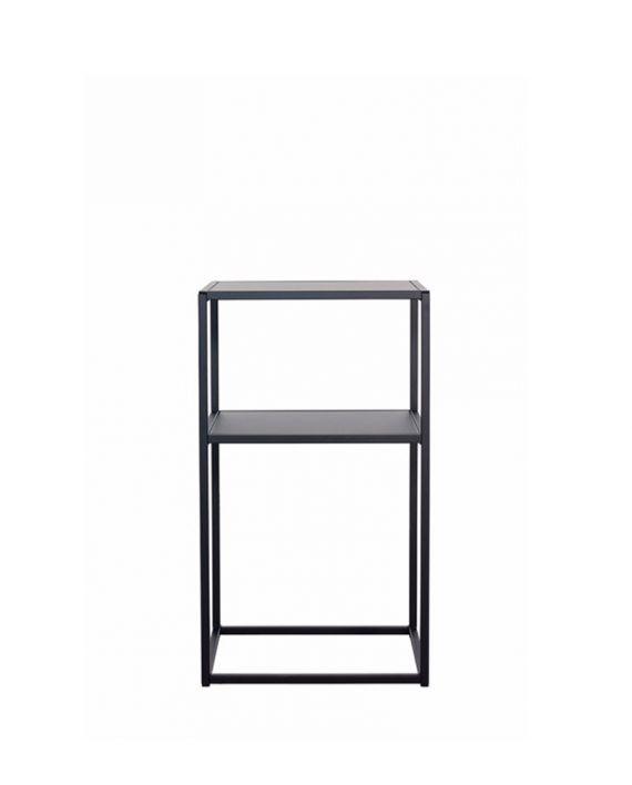 Domo sängbord metall – svart - Roomly.se