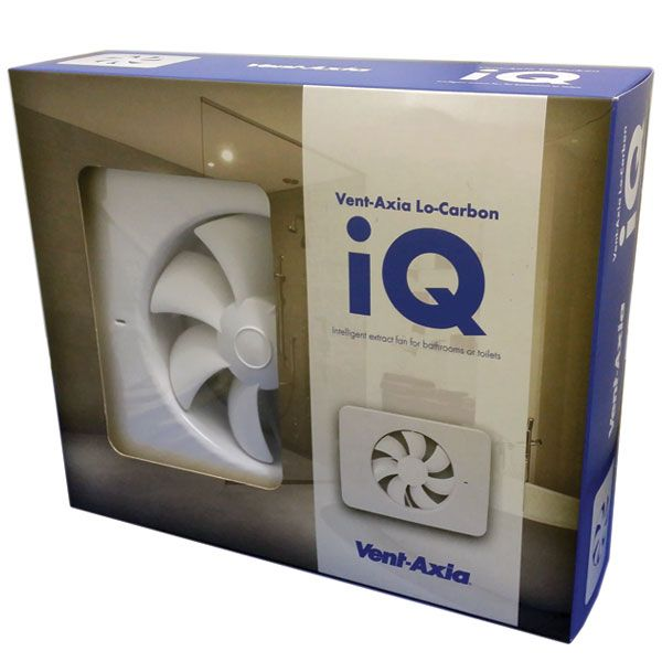 Lo Carbon Iq Vent Axia Axial Fan 405155 Bathroom Extractor Fan Extractor Fans Vented