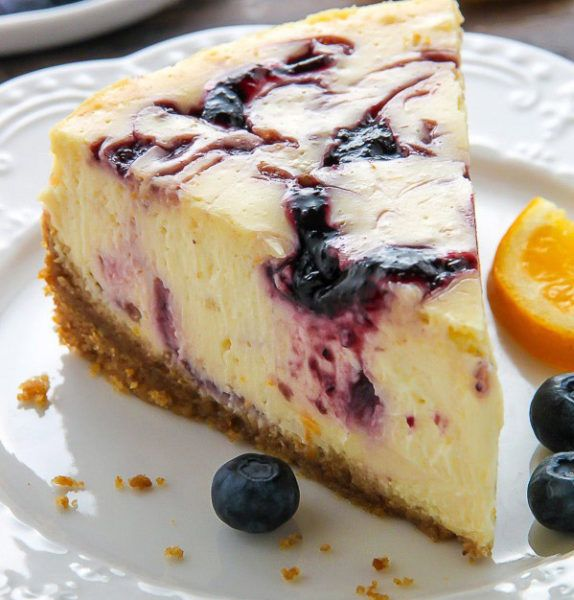 Lemon Blueberry Cheesecake (The Perfect Recipe) - Your Food Tube