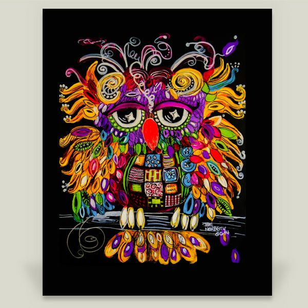 owlsa wall cling by on