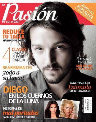 Diego Luna en revista Pasión