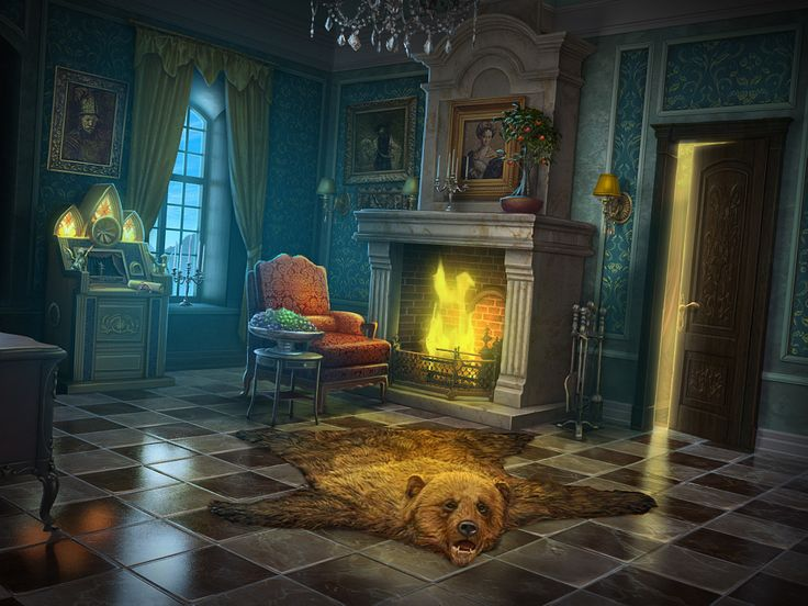 Games hidden objects study room