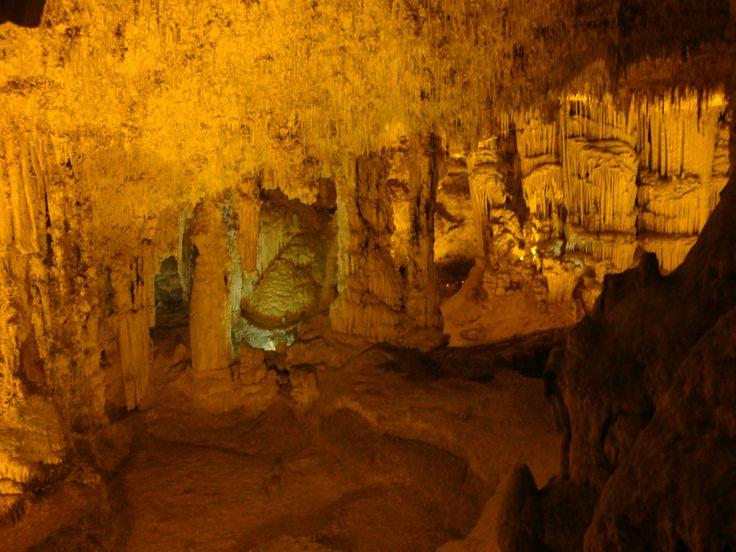 Into the Neptuno's caves, Alghero, Sardegna