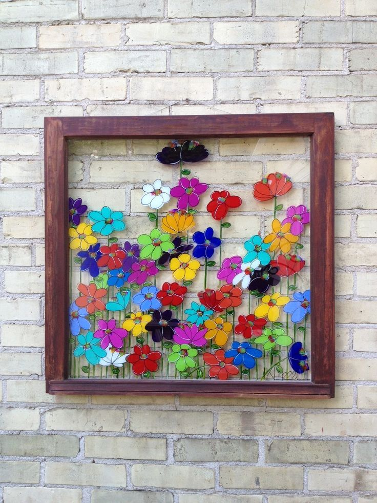 517 best painted windows images on pinterest vintage for Acrylic paint for glassware