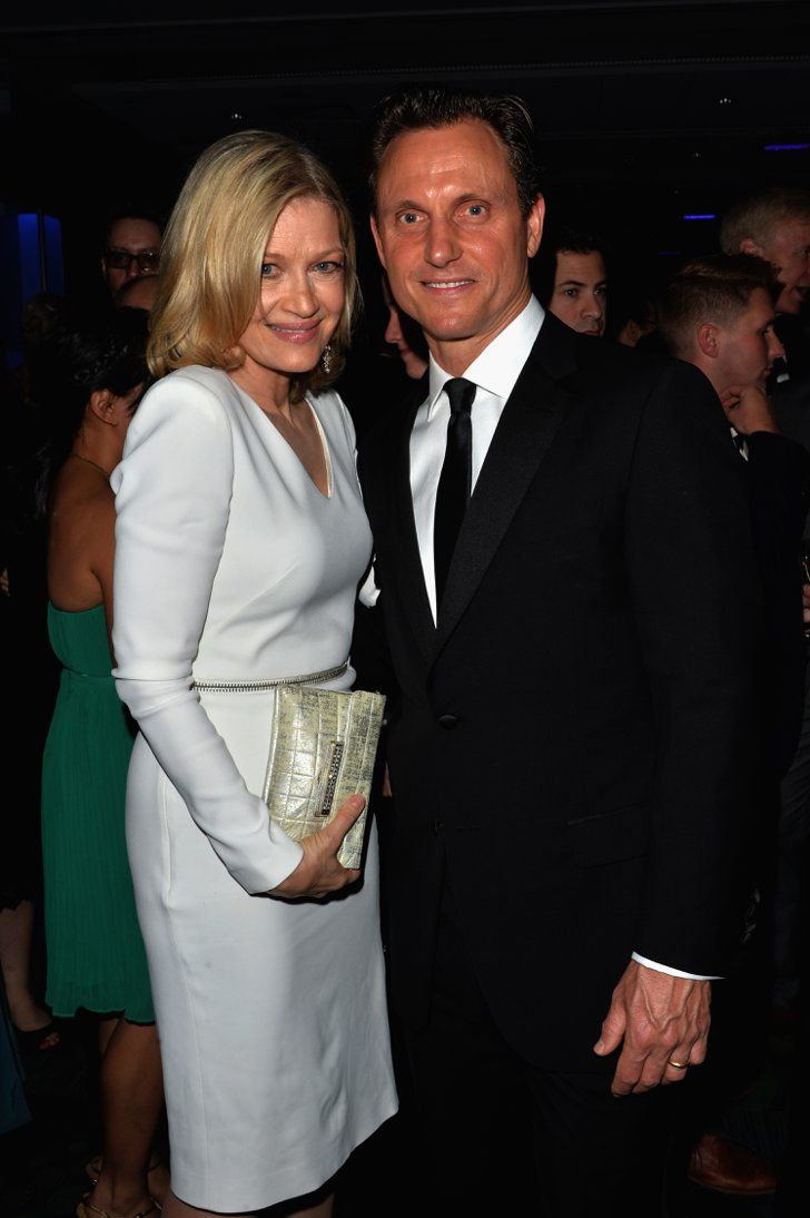 Pin for Later: Stars Set DC Aglow at the White House Correspondents' Dinner  Diane Sawyer shared a moment with Tony Goldwyn.