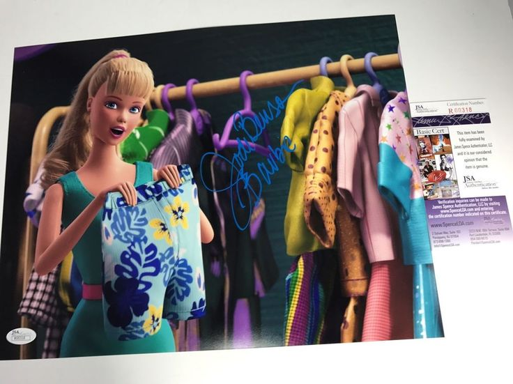 JODI BENSON signed 11X14 Photo BARBIE Toy Story 2 3 Voice JSA Authenticated