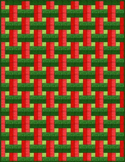 Easy Basket Weave Quilt Pattern : The best images about quilts zigzag weave wave on