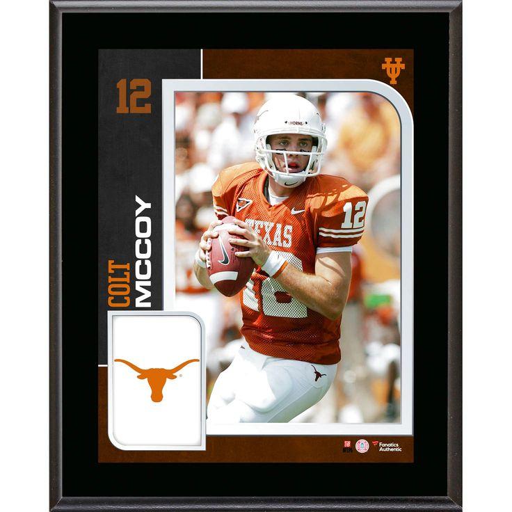 Colt Mccoy Texas Longhorns Fanatics Authentic 10.5'' x 13'' Sublimated Plaque - $23.99